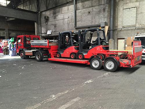 Transport de matériel de chantier à Nice